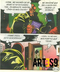 Hellboy en Chambeadoras
