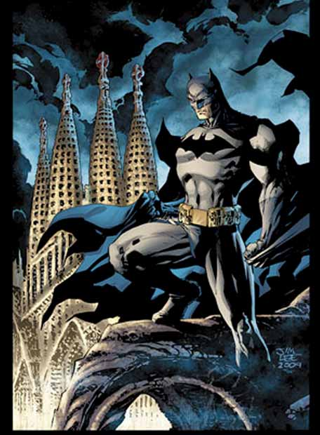 Batman Barcelona por Jim Lee