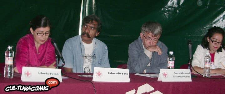 La mesa actualidad del Comic fue moderada por Jorge Fernandez