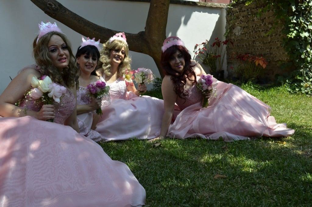 Las Reinas Chulas: Marisol Gasé, Ana Francis Mor, Nora Huerta y Cecilia Sotres./Photo Cortesía Factor 4 Comunicación