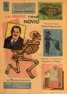 """José Guadalupe Posada en """"La Muerte tiene Novio"""" (1966)"""