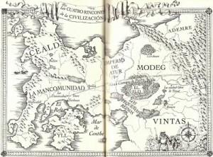 mapa el nombre del viento