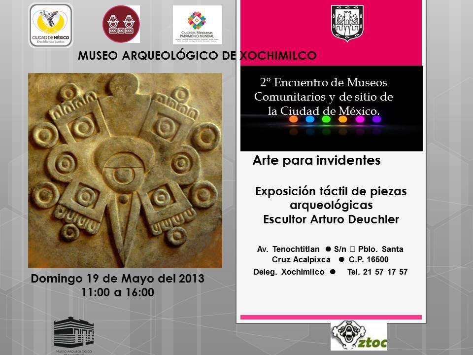 2o. Encuentro de Museos Comunitarios en Xochimilco