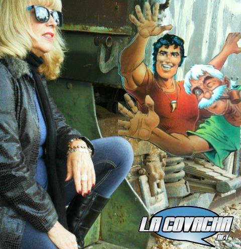 Martha Mora, guionista del comic Chanoc, Aventuras de Mar y Selva.