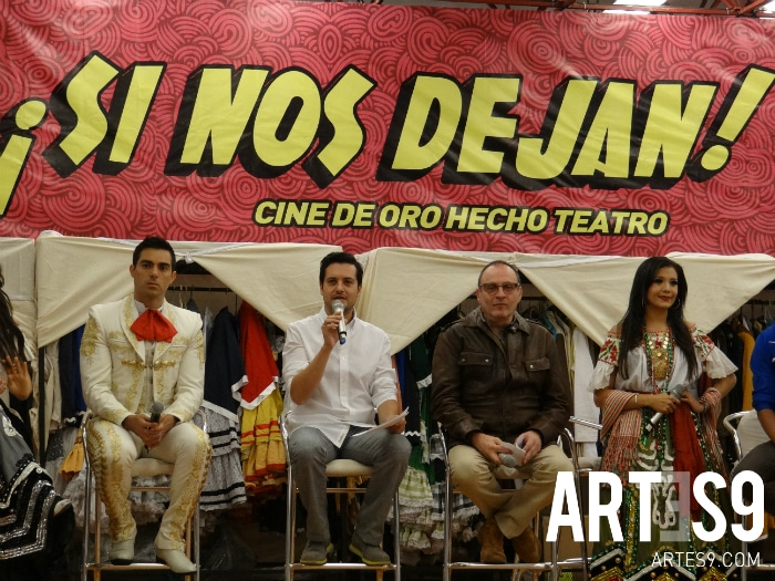 "El elenco de ""Si nos dejan se va de Gira""./Photo By Artes9.com"