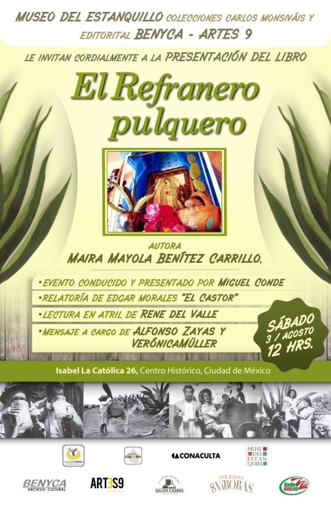 Presentación de El Refranero Pulquero.
