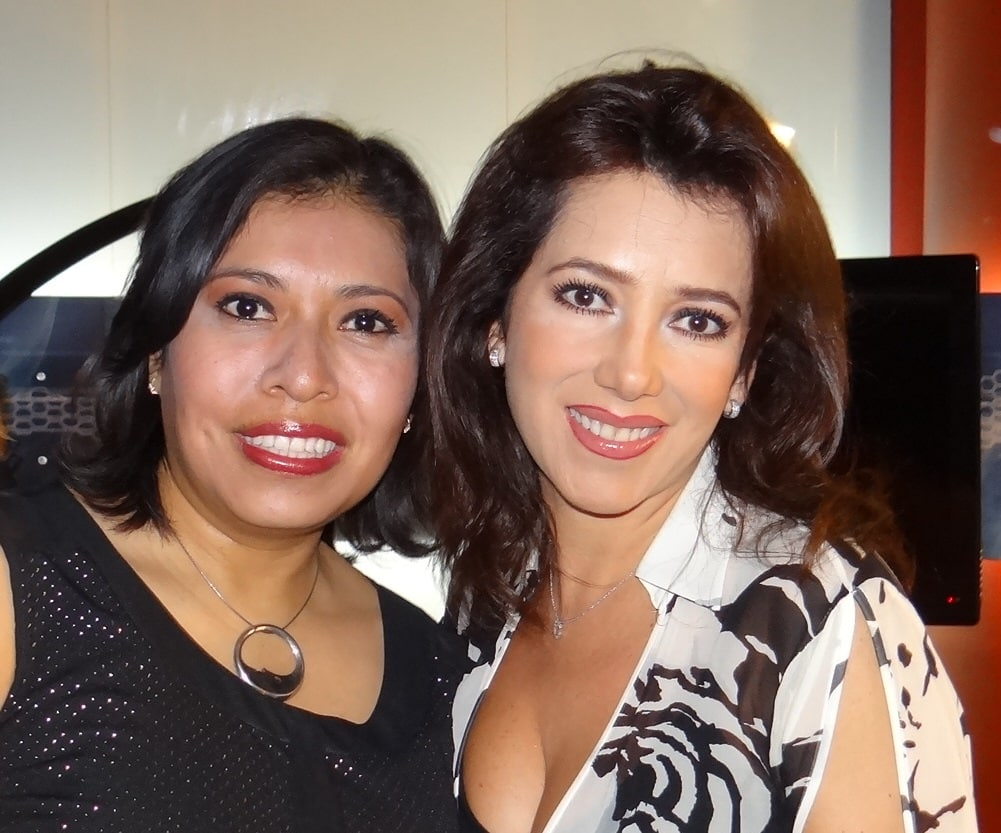 Maira Benitez y Claudia Arellano./BY A9