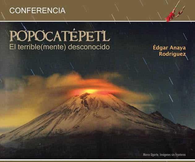 Popocatepetl conferencia