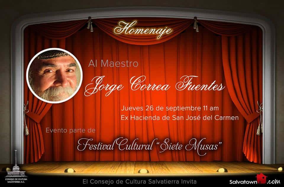 Homenaje al maestro Jorge Correa