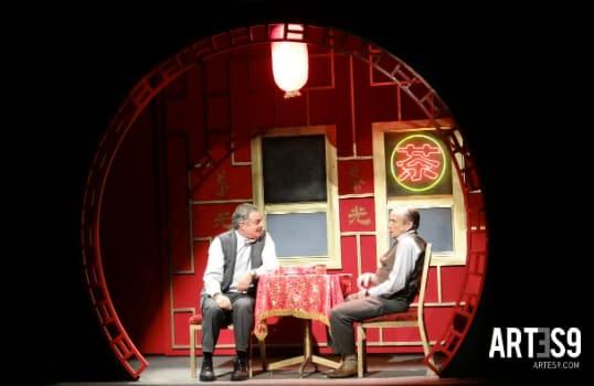 David Ostrosky y Juan Carlos Colombo en una escena memorable./Photo By Maira Mayola