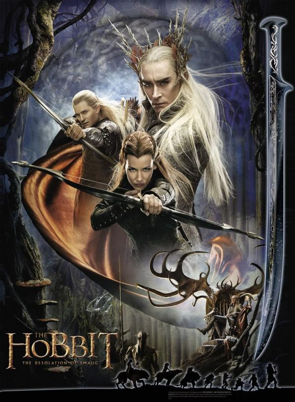 The-Hobbit-The-Desolation-Of-Smaug- Elf Poster