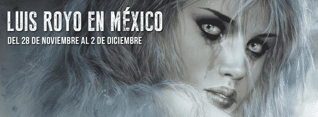 Luis Royo visita a Mexico 01
