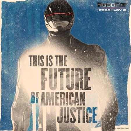 RoboCop justice poster