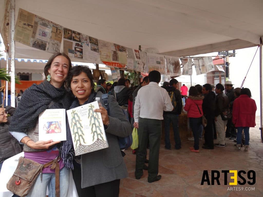 """Corina Salazar, autora """"Somos los hijos del maguey"""" y Maira Benitez,/Photo By A9"""
