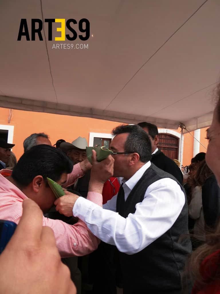 El publico disfruto al máximo de la tradición pulquera