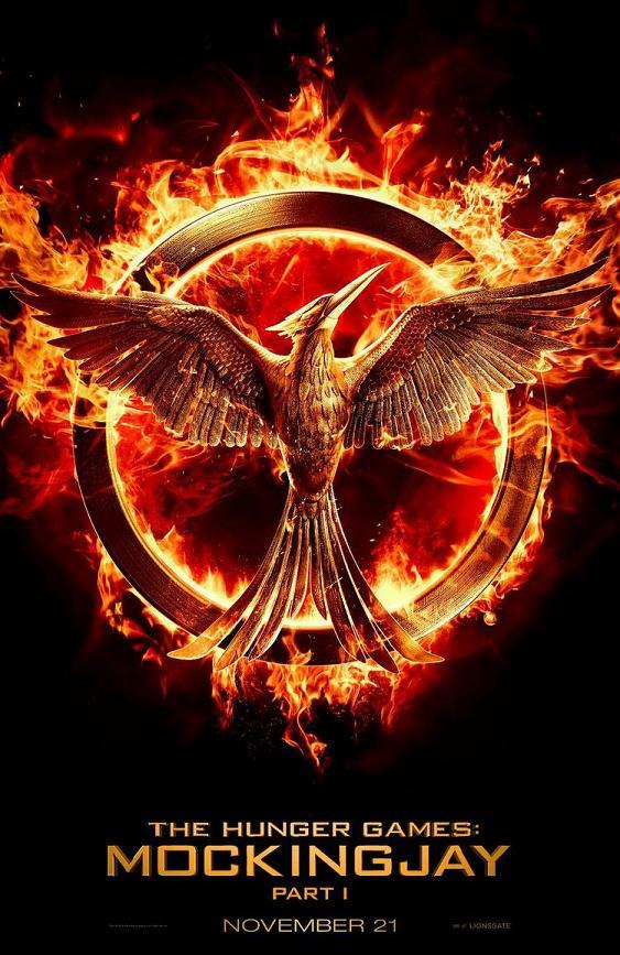 Teaser póster The Hunger Games Mockingjay Part 1