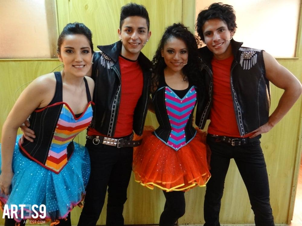 Alexa Visa, Danno Jain, Sánchez y Carlos Bolio, jovenes que pronto estarán estelarizando las marquesinas./Photo by Maria Mayola