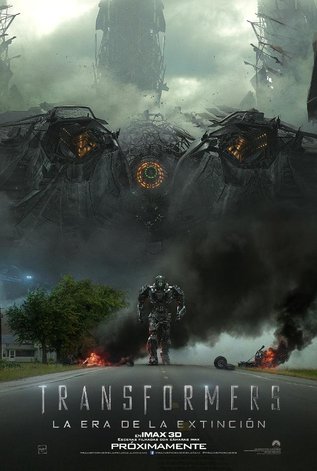 Póster de Transformers: La era de la extinción para su versión IMAX