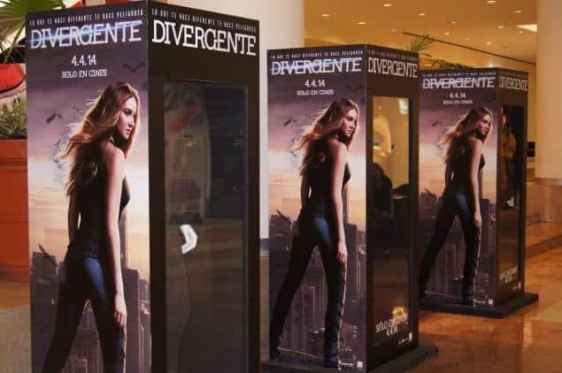 Exhibición de vestuario de la película Divergente