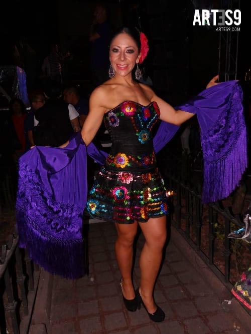 Rosy Arnago en #MúsicaVsLaHomofobiaMx./By Artes9