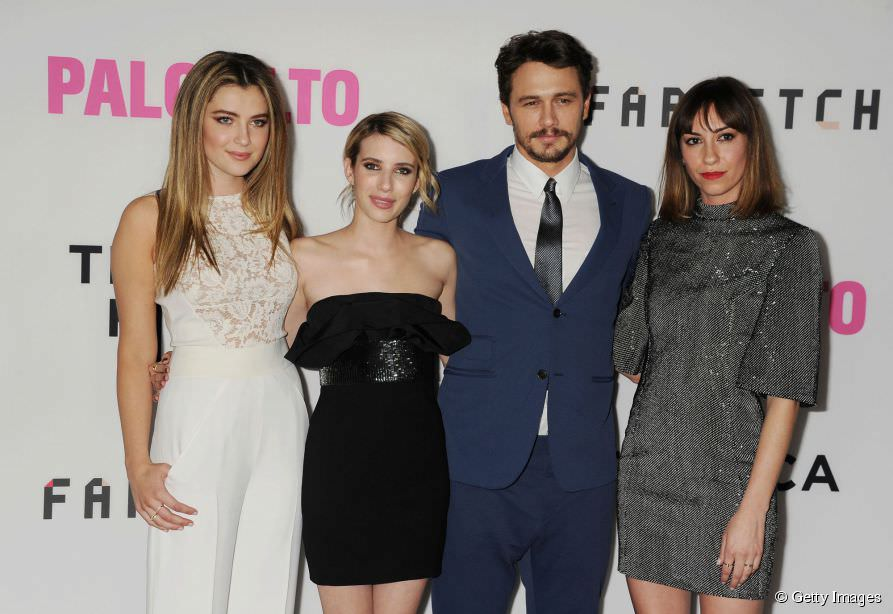 James Franco y Emma Roberts