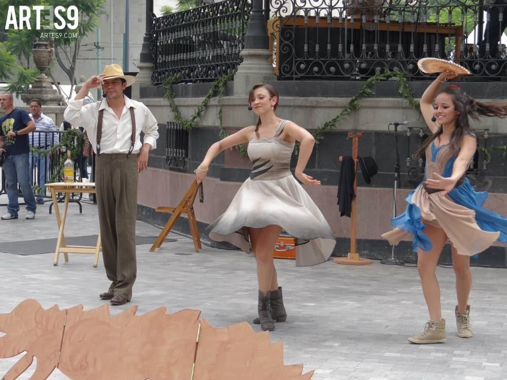 Teatro de la Calle, Patricia Madrid en homenaje a Efraín Huerta./By Alvamarquina