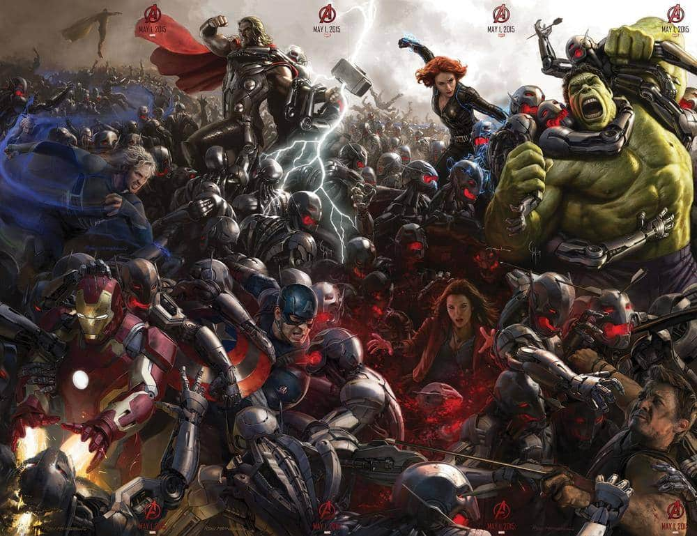 SDCC 2014 Avengers: Age of Ultron