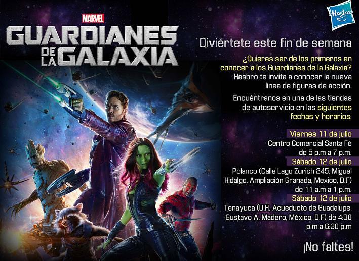Hasbro-Guardianes De la Galaxia