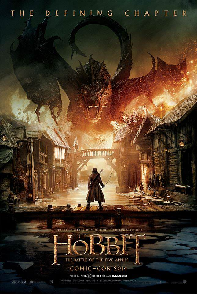 The Hobbit: The Battle of the Five Armies Read more: Comic-Con: The Poster for The Hobbit: The Battle of the Five Armies - ComingSoon.net http://www.comingsoon.net/news/movienews.php?id=120932#ixzz38JbhKl9M Follow us: @ComingSoonNet on Twitter | ComingSoon on Faceboo