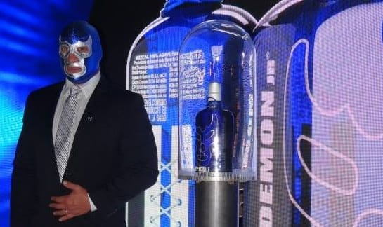 Mezcal Blue Demon Jr.