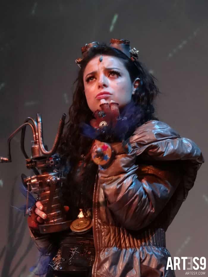 Violeta Isfel en Asimov./Photo By Alvamarquina