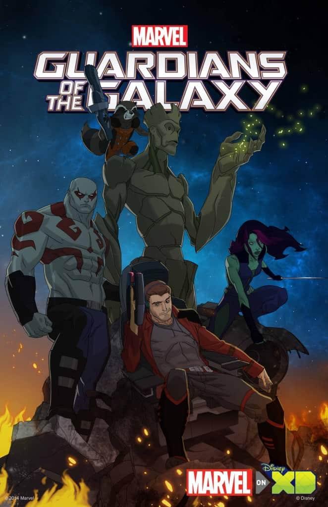 Guardianes de la Galaxia, de Marvel, una serie animada para Disney XD