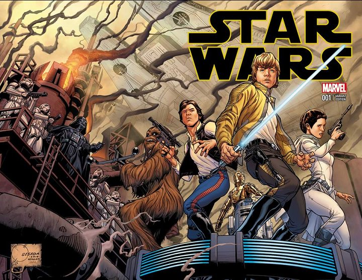 Portada de Star Wars por Joe Quesada