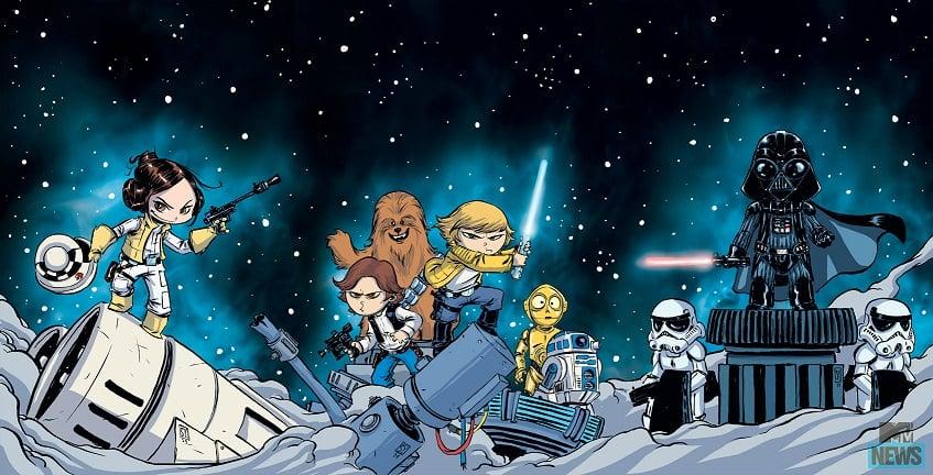 Star Wars Covers Skottie Young