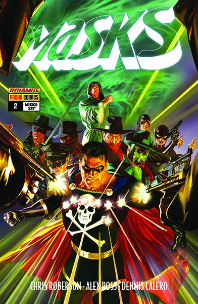 The Masks  by Alex Ross