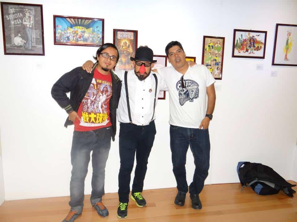 Augusto Mora, Alarcon y Dario en el 29 Festival Cultural de Zacates./Photo By Artes9