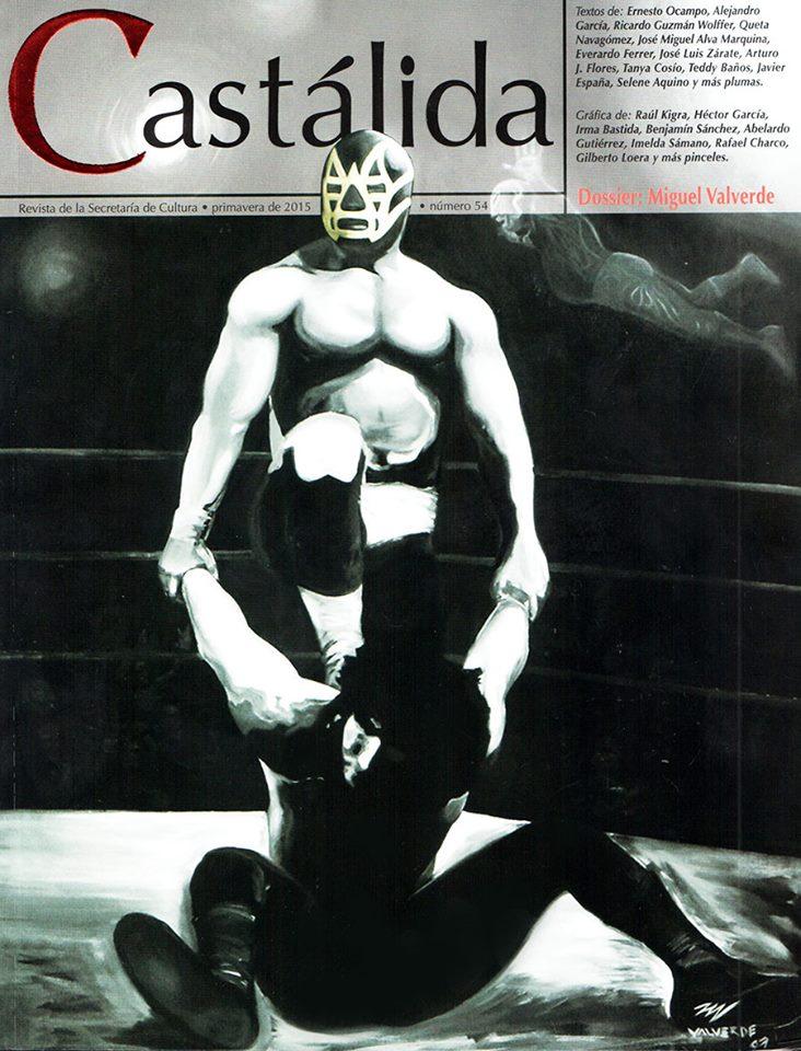 Castálida dedicada a la Lucha Libre se presenta en la FILIEM