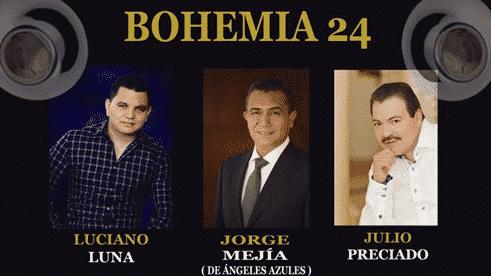 Una mezcla de cumbia y banda se vivirá en la Bohemia 24