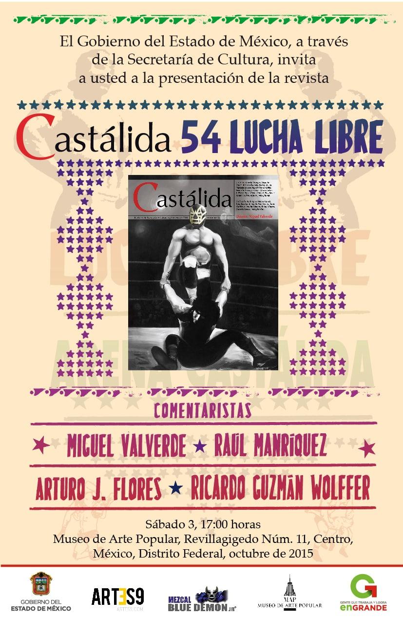 Invitación Presentación de Castálida 54