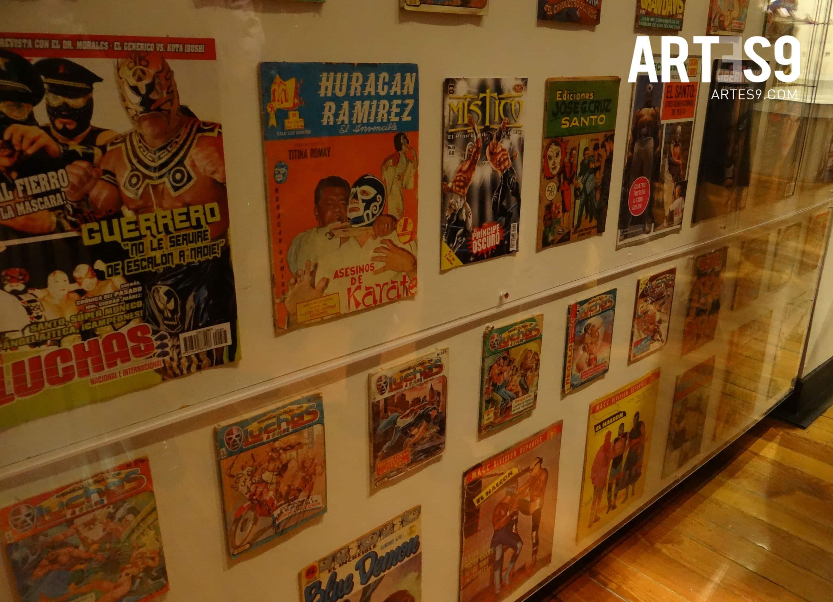 Colección de revistas e historietas de lucha libre