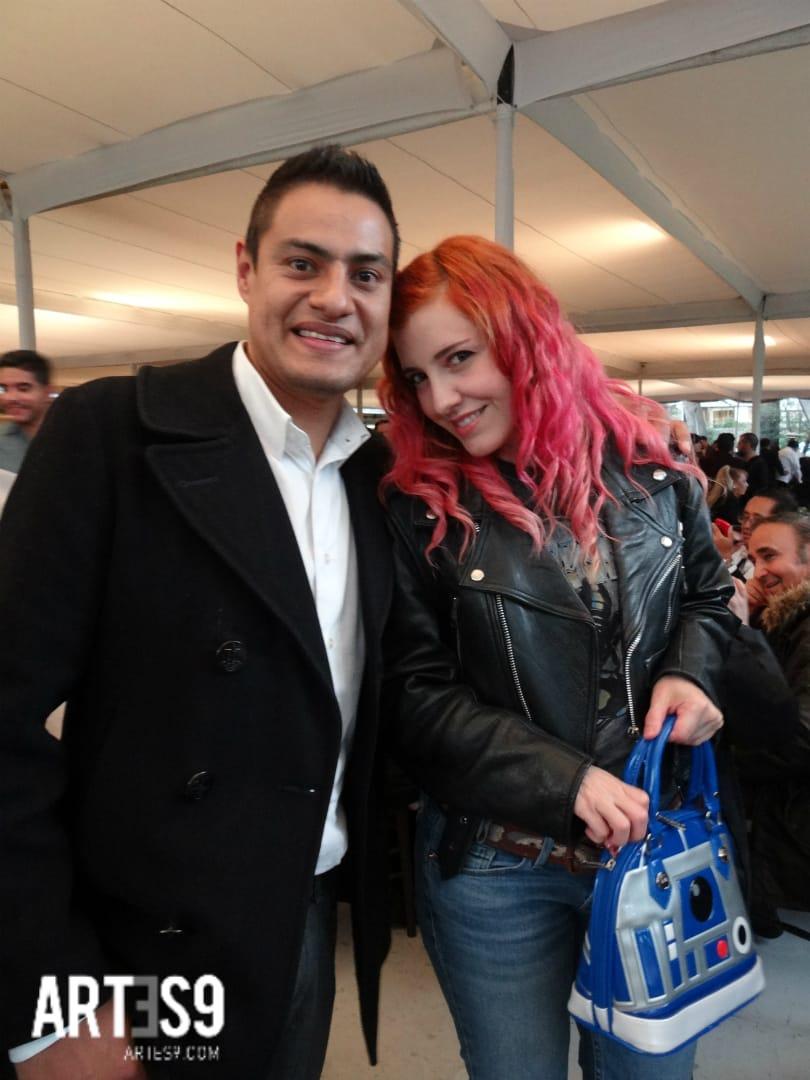 Maria Barracuda y Oscar Garcia