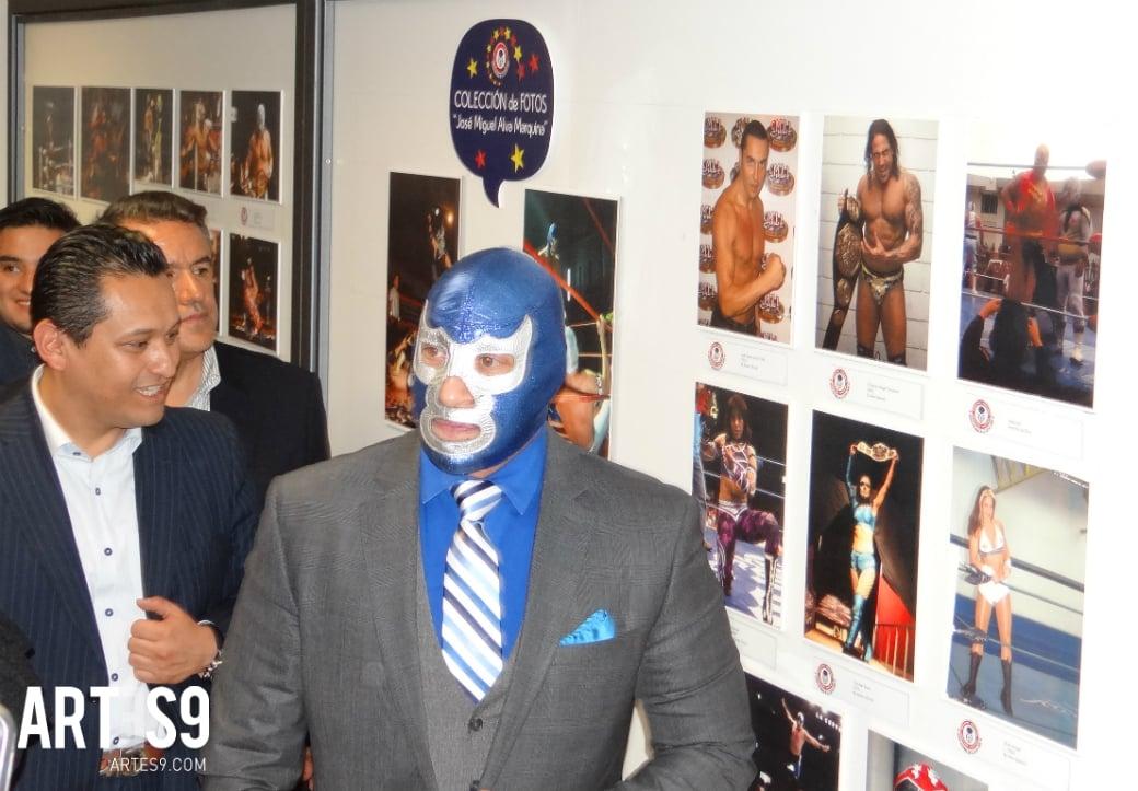 Blue DEMON Museo de la Lucha Libre