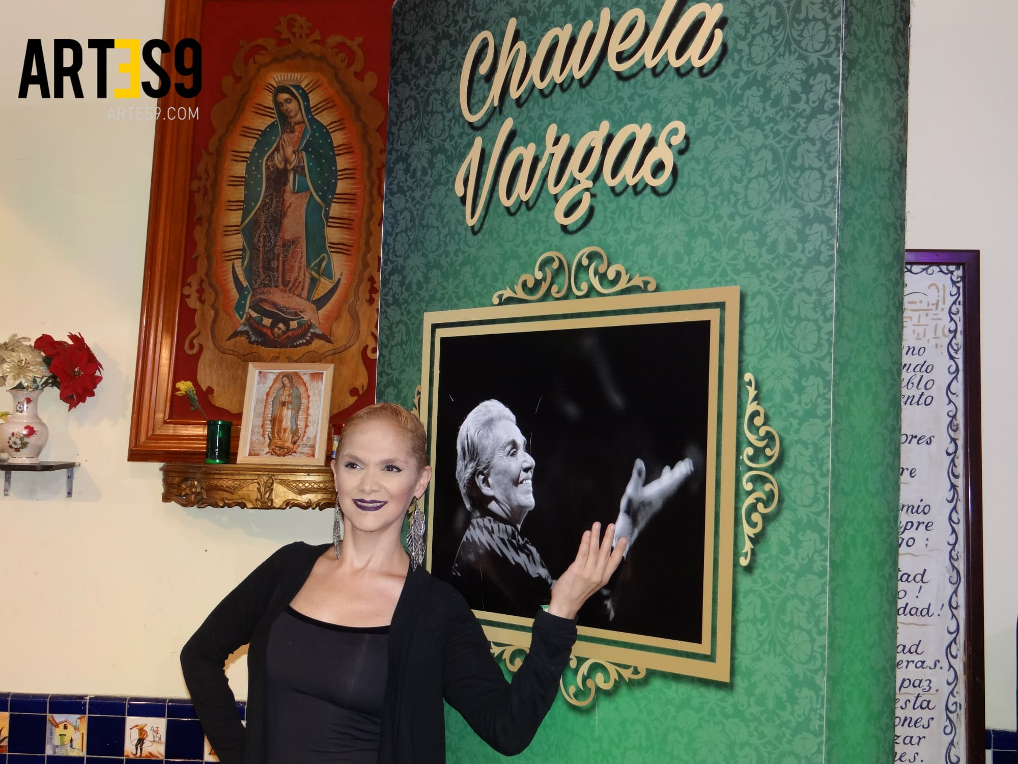 Laura Cortes Yo soy Chavela / Photo by Maira Mayola