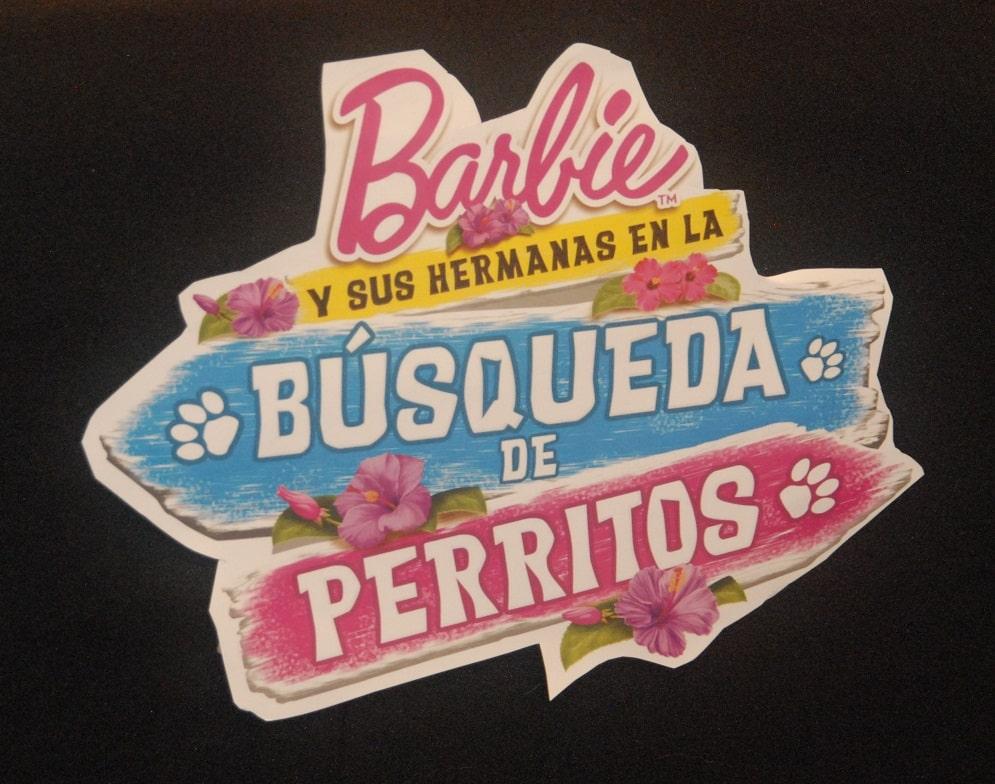 De izq a der.- Tatiana Miñaur, Dafne Molina, Barbie, Poncho Barbosa y Miguel Borges
