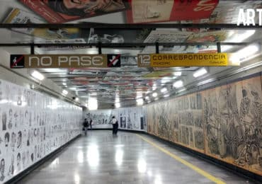Caricaturas metro Zapata