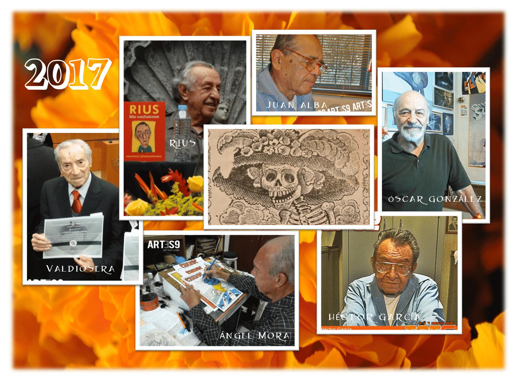 Caricaturistas fallecidos en 2017