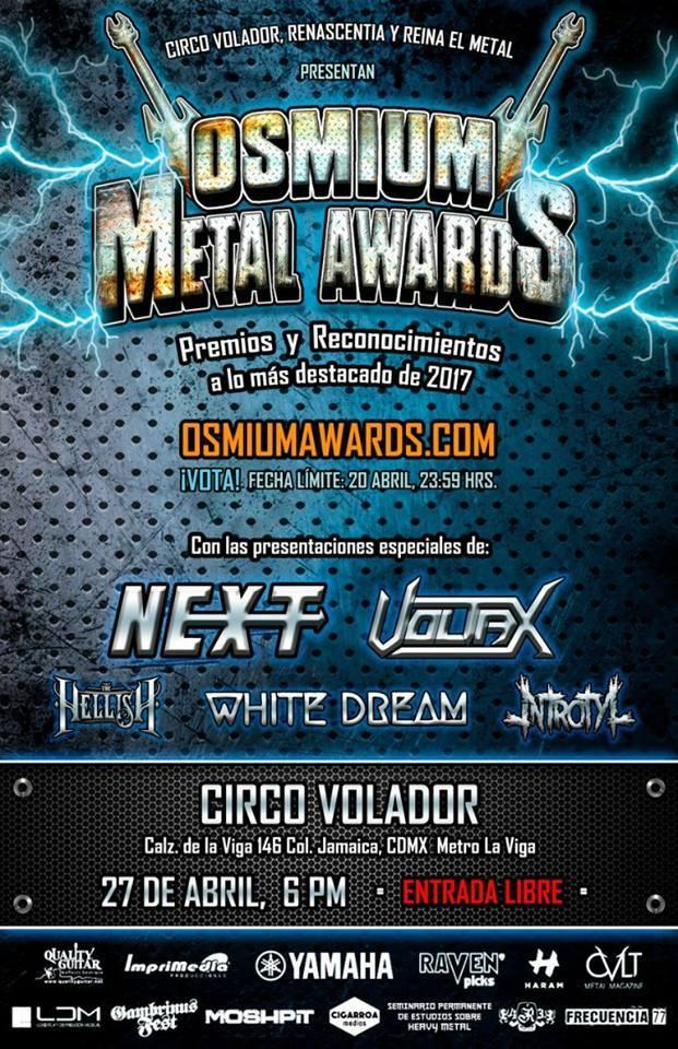 OSSMIUM heavy metal mexicano (1)