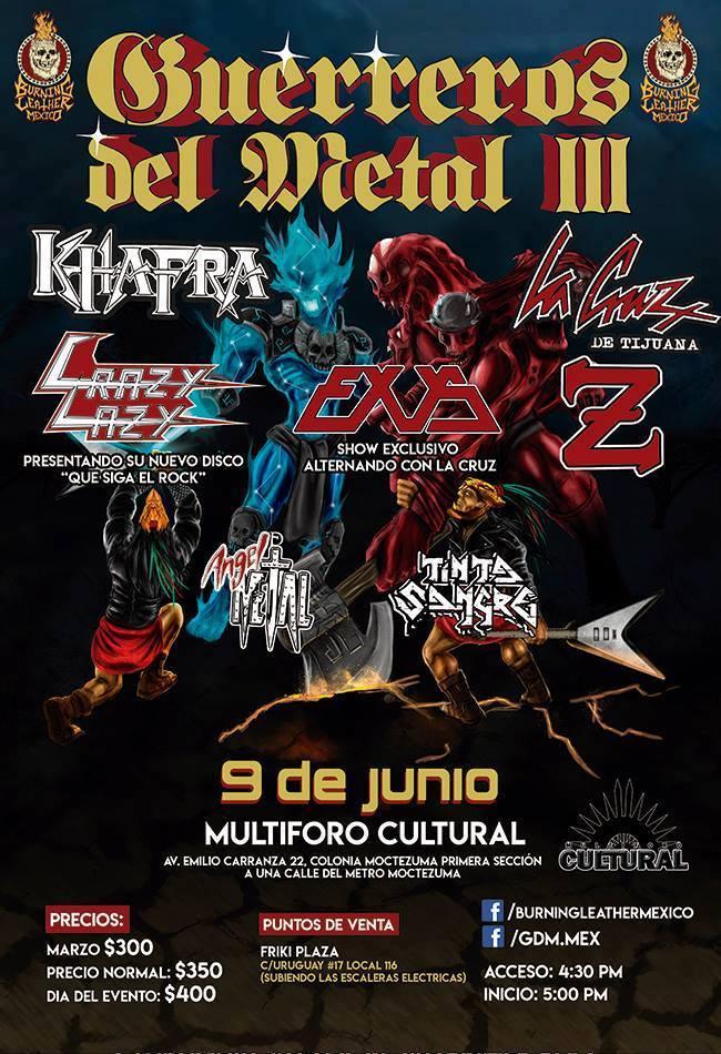 Guerreros de Metal (1)