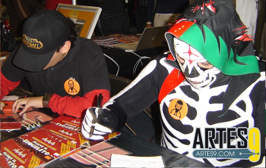 L.A. Park (Adolfo Tapia). Photo: Xtreme Warriors Wrestling en cortesía para Superluchas.com
